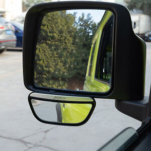 Hd Glass Blind Spot Mirror For Jeep Wrangler Tj 97 06 Rear View Mirror Pack Of 2
