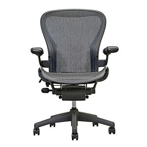 Herman Miller Aeron Mesh Office Desk Chair Medium Size B Basic Free Ship