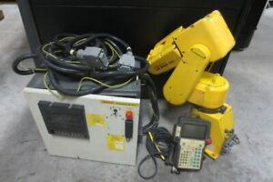 Fanuc Lr Mate 200i Industrial Robot With R j2 Mate And Teach Pendant