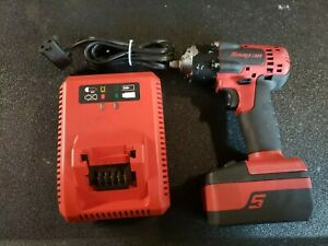 Snap On 3 8 Drive 18v Lithium Cordless Impact Wrench Ct8810a And Ctb8185 Battery