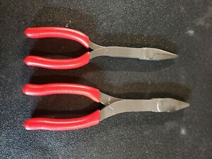 Snap On Duck Bill 609cf Needle Nose 908cf Pliers