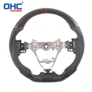 100 Real Carbon Fiber Steering Wheel For Toyota Corolla