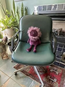 Vintage Harpers Rolling Office Chair Mid Century
