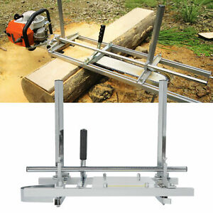 20 24 Chainsaw Guide Bar Chain Saw Mill Log Planking Lumber Portable