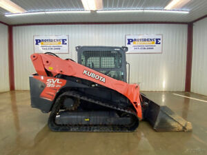 2016 Kubota Svl 95 2s Cab Skid Steer Track Loader With A c And Heat