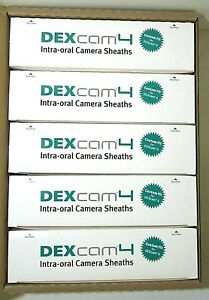 Dexcam 4 And 4 Hd Intra oral Camera Sheaths pack Of 500