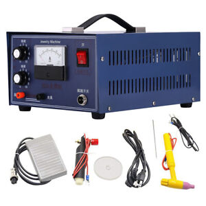 50a Pulse Spot Welder Jewelry Welding Machine Tool For Gold Silver Platinum 400w