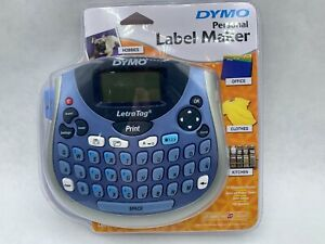 New Dymo Letratag Lt 100t Personal Label Maker Portable Sealed