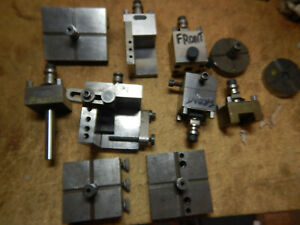Pile Of Shop Made And Erowa Edm Tooling Machinist Jig Fixture