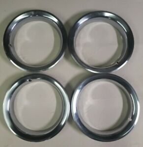 4 Gm 15 Wheel Stainless Steel Trim Ring 2 5 Deep Rally Stepped Edge