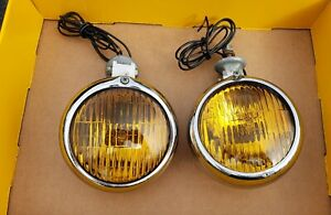 Vintage Do Ray 500 Fog Lights Nos Chevy Ford Driving