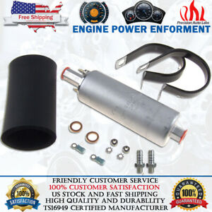 400939 Gsl392 Ti 255lph Inline High Pressure Fuel Pump W Install Kit For Walbro