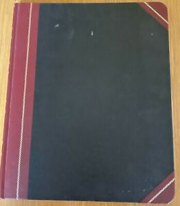 Vintage Boorum Pease Account Book Ledger 1602 1 2 150 80 Pages 12 1 2 X 10