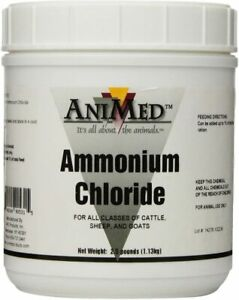Animed Powder 99 9 percent Ammonium Chloride For Horses Dogs Cats Cows Sheep