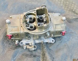 9379 Holley 750 Cfm Race Carb Annular Discharge Racing Double Pumper Carburetor
