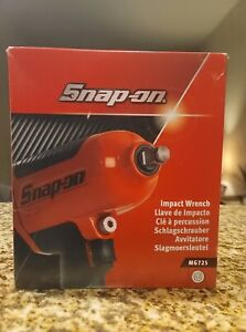 Snap On Mg725 1 2 Impact Wrench Air Brand New In Box With Manual Red