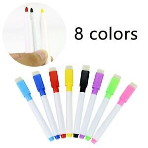 1pcs Magnetic Whiteboard Pen markers Erasable Drawing Recording Magnet