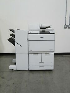 Canon Imagerunner Advance 6555i Color Copier Printer Scanner Only 132k Copies