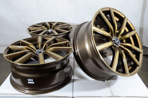 18 Wheels Rims Bronze Fit Nissan Altima Maxima Ford Mustang Honda Civic Accord