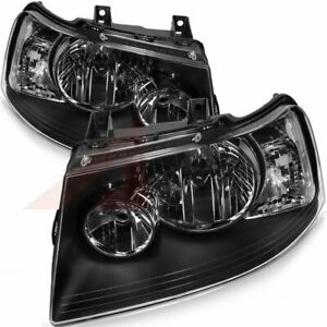 Fits 2003 2006 Ford Expedition Direct Replacement Front Led Headlights Assembly