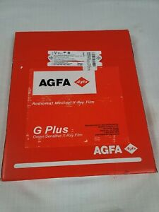 Agfa Ortho Cp gu M 10 12in Medical X ray Film Expires 11 2021