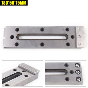 Cnc Wire Edm Fixture Board Stainless Jig Clamp Clamping And Leveling 180x50x15mm