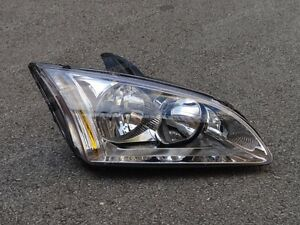 Right Side Projector Headlight Head Lamp Assembly For Ford Focus 2005 2007