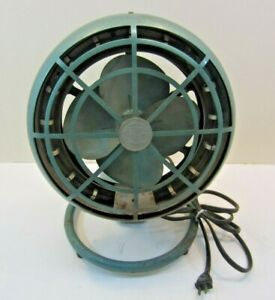 Vintage 1950s Arvin Space Heater electric Table Fan Works Original