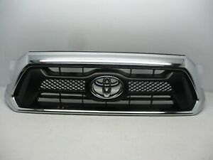 Oem 2012 2013 2014 2015 Toyota Tacoma Grille Chrome Grill 53100 04470