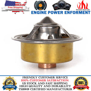 160 Degree High Flow Robertshaw Style Thermostat For Ford Chevy Gmc Jeep Dodge
