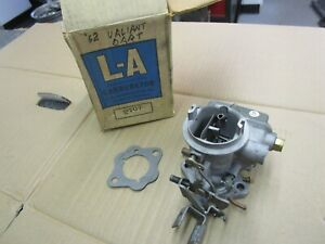 1962 Plymouth Valiant Dodge Dart Holley 2 Bbl Carburetor Rebuilt