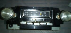 Gm 8 Track Car Stereo Vintage Am Fm Radio