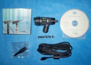 Welch Allyn 23920 Digital Macroview Otoscope Usb Cable Specula s Software