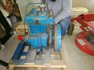 Quincy 325 Air Compressor Head Used Qr25 Twin Cylinder 8 To 18 Cfm 175 Psi