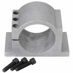 80 100mm Aluminum Cnc Spindle Motor Mount Bracket Clamp With Screws Walfront 3d