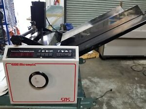 Pierce Sn 4000 Micromatic Numbering Machine Video Link In Description