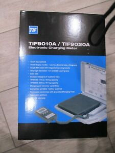 New Slimline Tif9010a Electronic Refrigerant Charging Meter Scale Tif