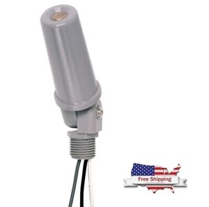 Intermatic K4251 120 volt Thermal Photocontrols With Stem And Swivel Mounting