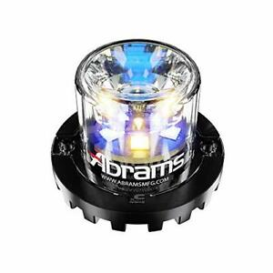 Blaster 360 18w Amber Blue 6 Led Hideaway Strobe Emergency Vehicle Truck