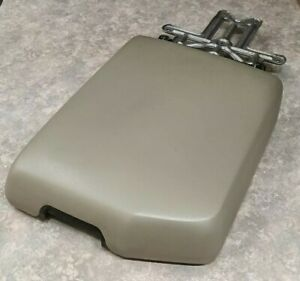 07 2013 Toyota Tundra Sequoia Center Console Arm Rest Door Lid Oem Tan