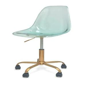 Mainstays Acrylic Rolling Office Chair Yucca
