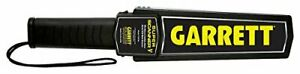 16 Garrett New Super Scanner V Hand held Security Metal Detector Wand Durable