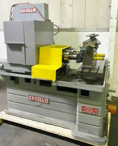 Excello 312 Twin Spindle Boring Mill