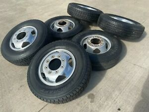 17 Gmc Sierra Chevy 3500 Dually 2020 2021 Rims Wheels Oem 5519 5520 2018 2019