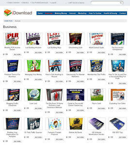 Ebooks Digital Products Store Website For Sale 180 Items Included