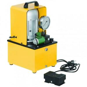 Electric Hydraulic Pump Single Acting Remote Controlled Valve 10000 Psi B 630f
