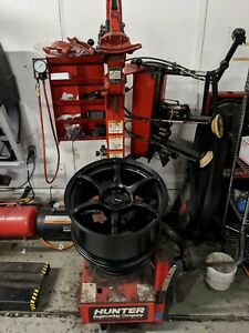 Used Hunter Engineering Tc3500 Tire Changer Machine