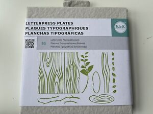 Letterpress Plates Wooden We R Memory Keepers Lifestyle Quick Kutz