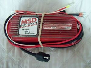 Msd 6a 6446 Ignition Control Box Refurbished By Msd New Wires Free Shipping