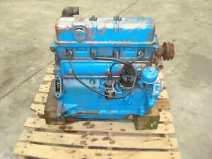 1953 Ford Jubilee Naa Tractor Running Engine 600